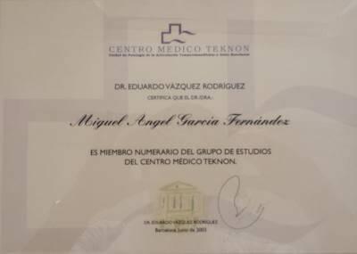 Clínica Dental Miguel Ángel - Título Tekno Palencia