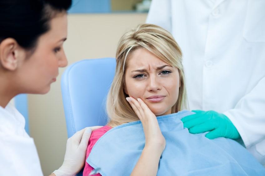 mala alineación dental