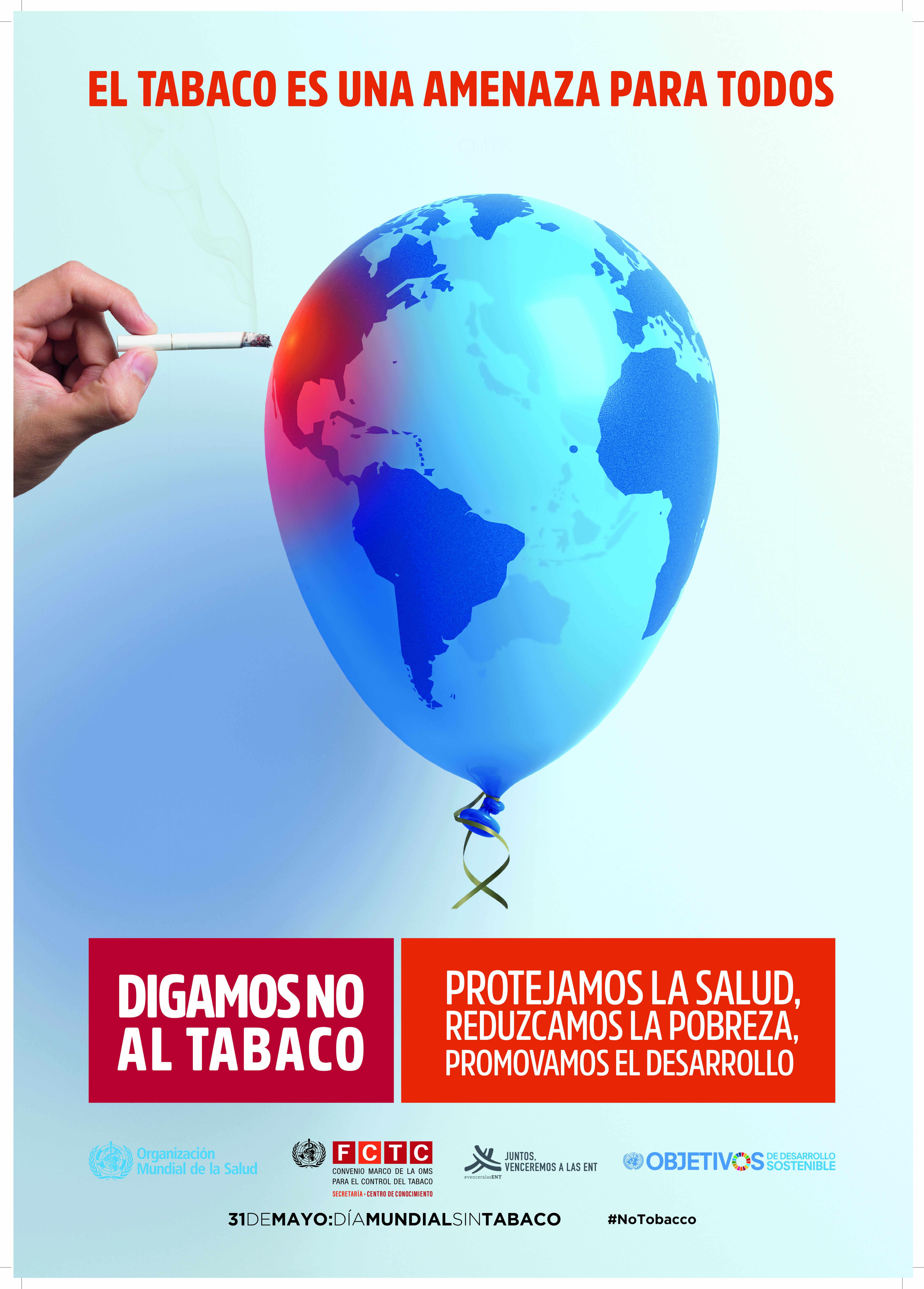 día mundial sin tabaco,