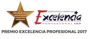 Premio excelencia profesional 2017